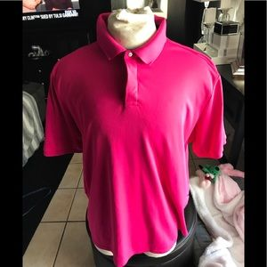 Ralph Lauren RLX Men's Golf shirt Sz XL Fuchsia
